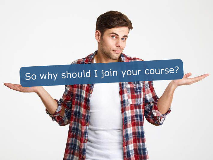 Why should I join your e-commerce video training course